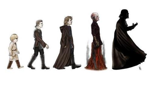 Evolution via Star Wars
