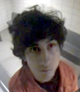 Tsarnaev after his initial arraignment in 2013.